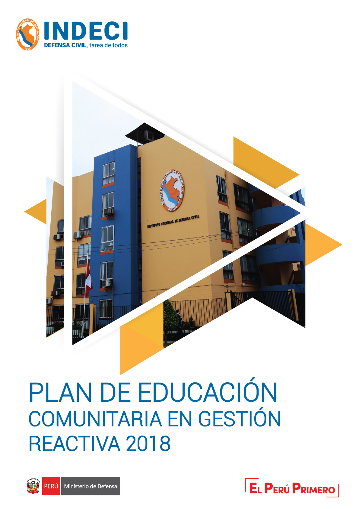 Documento Plan De Educacion Comunitaria En Gestion Reactiva Indeci
