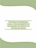 Lecturas seleccionadas para el fortalecimiento de capacidades de docentes en gestión del riesgo